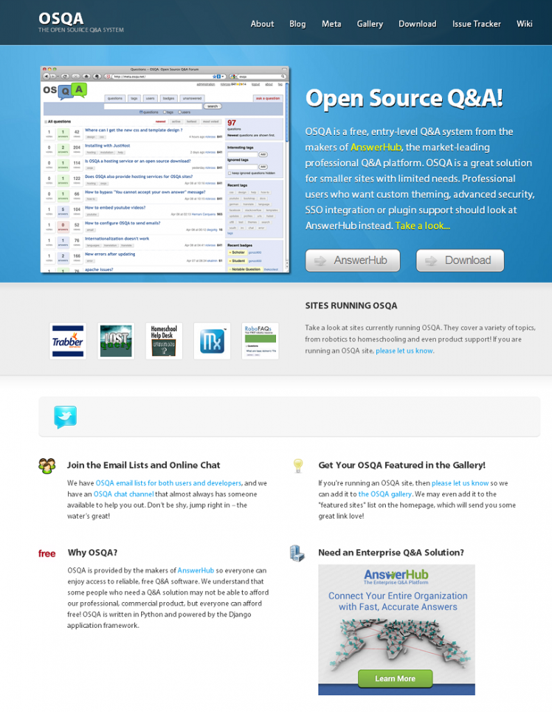 OSQA I The Open Source Q&A Syste - www_osqa_net
