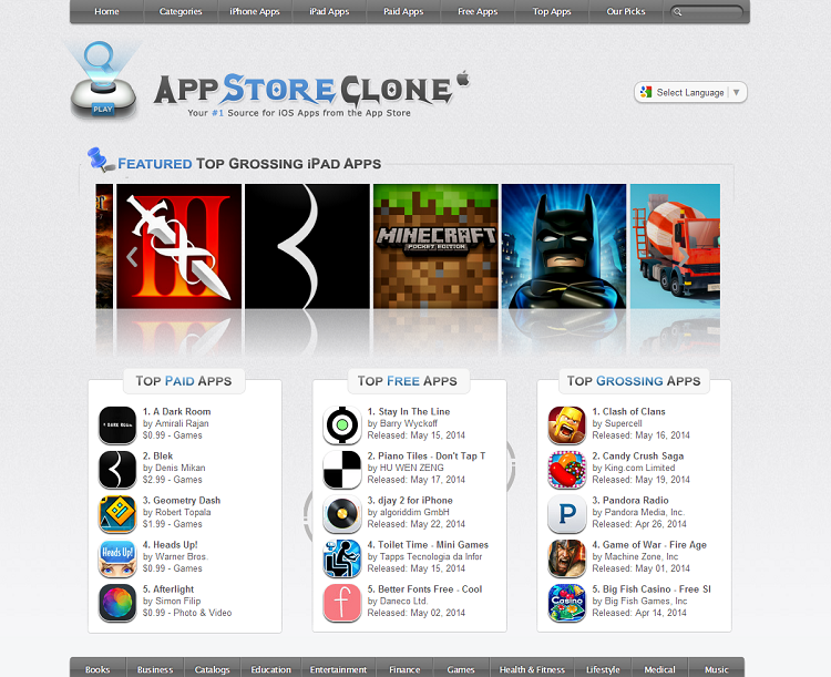 App Store Clone – Your #1 Source for iOS Apps from the App Store