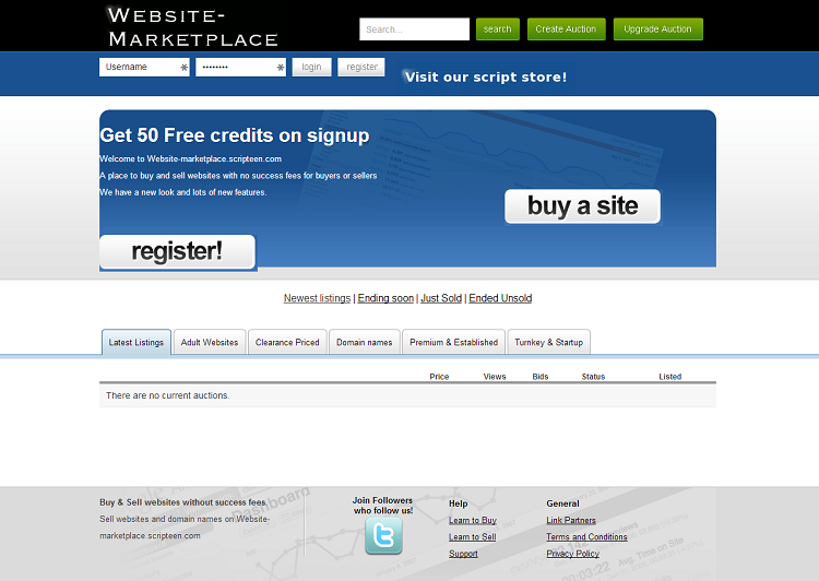 Website marketplace script 99 clone scripts for Buy and sell online sites