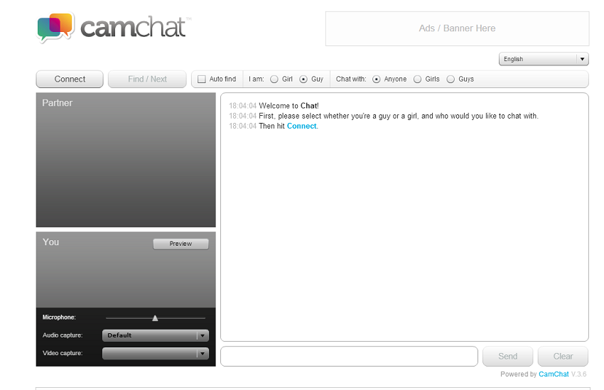 CamChat - Chatroulette Clone Script