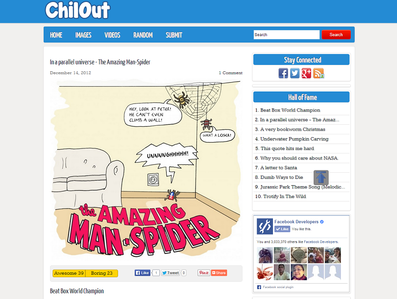 ChillOut 9gag free clone