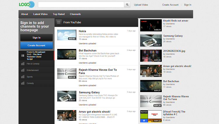 Ez Broadcast - The Best Youtube Clone Script