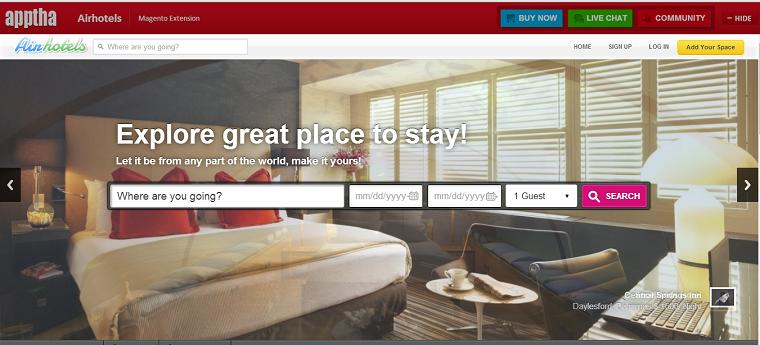 Airbnb Magento