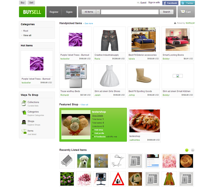 this is social cart title - buysell_demo_agriya_com_product_demo