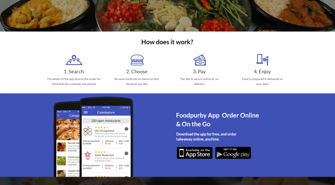 Food ordering and delivery application - 99 Clone Scripts