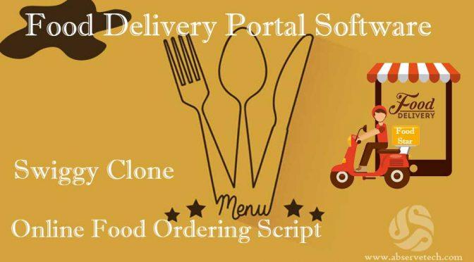Online Food Ordering Script, Swiggy Clone Script Food Delivery