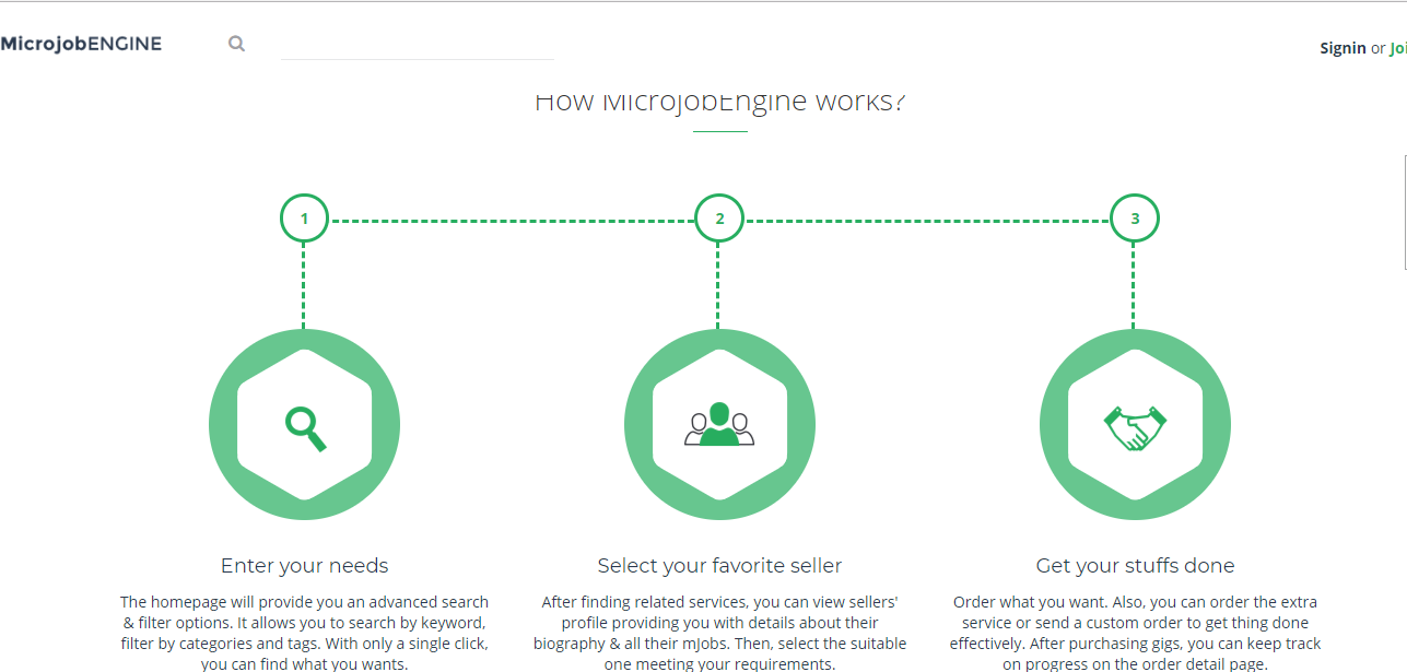 MicrojobEngine - Microjob Marketplace WordPress Theme - 99 Clone Scripts