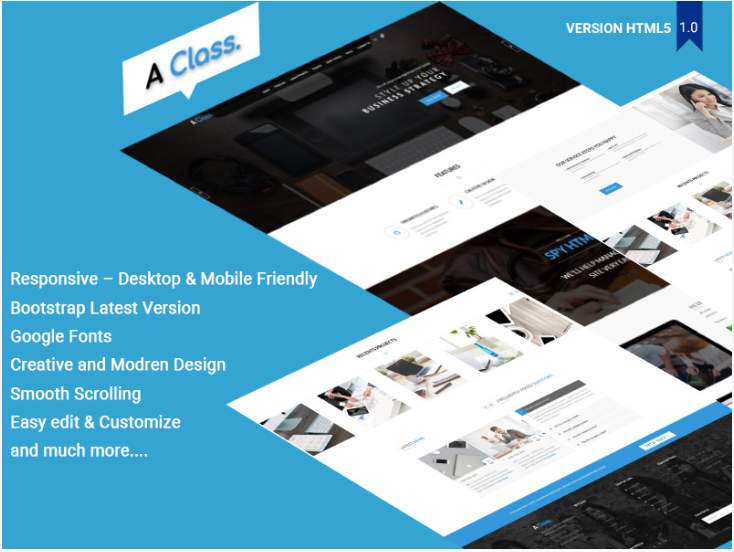 creative agency html template free